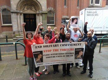 kev prison protest
